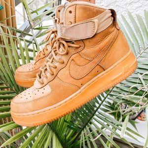 Nike Air Force 1 Hi Flax sneakers